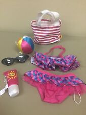 Build-a-Bear Beach Bag Bikini SPF sunscreen beach ball sunglasses summer