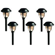 Solar Roman Bronze Outdoor Integrated LED 3000K 12-Lumens Metal And Glass Light