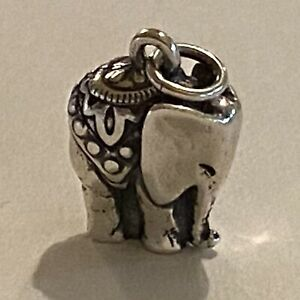 James Avery New Forget Elephant Charm - Retired