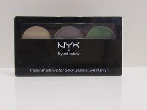 NYX Triple Eye Shadow Opal / Platinum Silver / Luster TS16