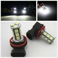 Pair H11 5050 18 LED Car Head Fog Light Bulb For Ford Falcon FG XR6 XR8 Focus RS