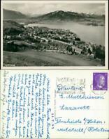 Ansichtskarte Tegernsee (Stadt) Blick auf Stadt und See 1930