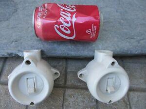 Vintage Pair Unused (Old Stock) 1960 / 1970 Robust Light Switch