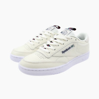 Reebok Club C 85 Vintage Leather Trainers Mens UK 8.5 BNIB CN6863 Chalk Navy New