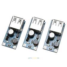 3pc USB DC Step Up Wandler Boost Modul DC-DC Spannungsregler 0.9-5V 5V 600MA