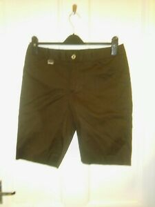 Ladies Golf Shorts - Ralph Lauren  brown cotton with stretch size uk 10 us 6