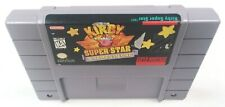 AUTHENTIC Kirby Super Star with NEW SAVE BATTERY Super Nintendo Game SNES