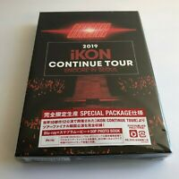 2019 iKON CONTINUE TOUR ENCORE IN SEOUL Blu-ray + PHOTOBOOK Limited Edition F/S