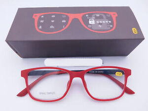 Trendy Fashion Red & Black Readers With Box