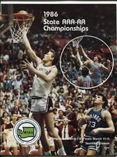 High School Basketball Program Washington Prep WIAA 1986 State AAA AA  Garfield