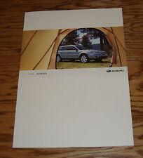 Original 2008 Subaru Outback Deluxe Sales Brochure 08