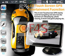 "5""HD gps navigation + wireless reverse camera hd +8G av-in bluetooth DDR128MB"