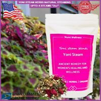 Yoni Steam Herbs V Steaming Therapy Vaginal Detox Fertility Blend 5 TO 7 STEAMS