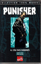 MARVEL 100% PUNISHER  N° 4 : L'ILE DES DAMNES    PANINI COMICS