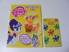Niños Niñas My Little Pony Para Colorear libro de actividades + 12 lápices