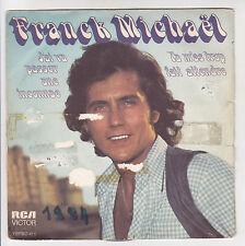 """Frank Michael Vinyl 45 RPM 7 """" Tu M'as Too Fait Wait - Rca 411 F Reduced Rare"""