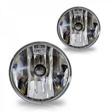 07-13 Chevy Suburban Tahoe Fog Lights Clear Lens Front Driving Lamps Camaro Pair