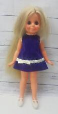 Crissy Family Cousin Velvet Doll Ideal Grow Hair Doll 1971 Sleep Sleepy Eyes
