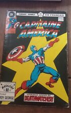 Capitaine America # 152/153 French comic Francais 1984 Editions Héritage