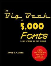 The Big Book of 5000 Fonts and Where to Get Them