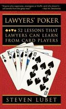 Lawyers' Poker: 52 Lessons that Lawyers Can Learn from Card Players-ExLibrary