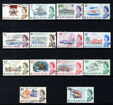 BAHAMAS QE II 1967-71 Pictorial Decimal Currency Part Set SG 295 to SG 308 VFU