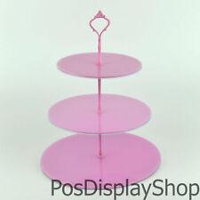 Pink Cake & Cupcake Stands