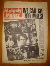 MELODY MAKER 1977 JAN 1 JOHN MILES EDDIE AND HOT RODS