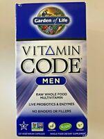 Garden of Life: VITAMIN CODE - MEN'S | 120 Capsules, RAW WHOLE FOOD MULTIVITAMIN