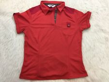 Women's Pearl Izumi Cycling Collared Tee Size Large Buttons