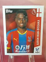 Aaron Wan Bissaka Crystal Palace Premier League 2019 Topps Rookie Sticker