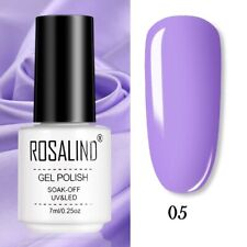 ROSALIND Gel Polish Manicure for Nails Semi Permanent Vernis Soak Off Nail Art