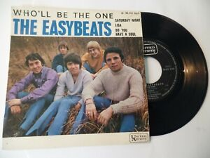 """French EP The EASYBEATS """"Who'll be the one"""" +3 (VG+/VG)"""