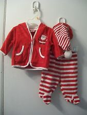 Christmas Baby Clothes 3 Pc Set; 3 mo; Infant Outfit; Holiday Suit; Carters; New