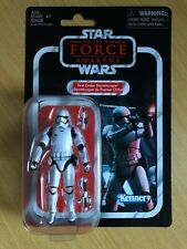Star Wars The Vintage Kenner Collection First Order Stormtrooper Figure - 10cm