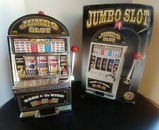 Jumbo Slot Machine Bank Model 440 New in Original Box, 2004