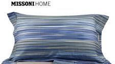 NWT Missoni Home 2 King Pillow Cases Cotton Sateen Leopoldo New 174