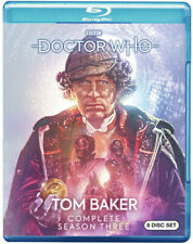 Doctor Who: Tom Baker: Complete Season Three [New Blu-ray] Amaray Case