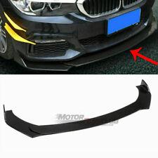 3PCS Front Bumper Lip Spoiler Chin Splitters For Infiniti Q50 2014-2017 Black