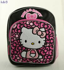 Hello Kitty Small Backpack 10''  Boys Bag Kids School Book Bag - Brand New!!!