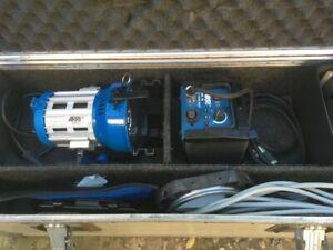 ARRI Arrisun 2 HMI PAR Light Kit