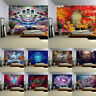 Bedroom Background Decor Cloth Painting Bohemian Buddhism Tapestry Wall Hanging