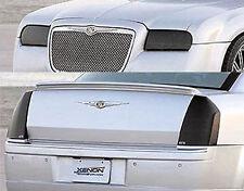 Fits 08-10 Chrysler 300 GTS Acrylic Smoke Headlight Taillight Covers 4pc Set NEW