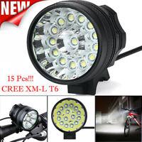 38000LM XM-L T6 LEDBicycle Lamp Bike Light  3 Modes Headlight Cycling Torch