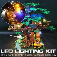 LED Light Lighting Kit ONLY For LEGO 21318 Ideas Treehouse Building Block Bricks