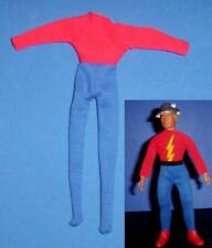 custom male Ga Flash suit for Mego 8 inch scale figure doll