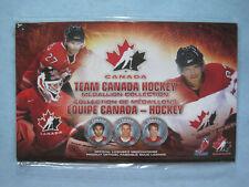 2010 TEAM CANADA OLYMPIC HOCKEY MEDALLION COIN COLLECTION MINT+ SIDNEY CROSBY