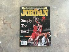 1996 Gold Collectors Series Basketball Magazine Michael Jordan Simply The Best