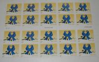 US STAMP SCOTT #3976a - Pane of 20 - TRUE BLUE LOVEBIRDS - First Class (39c)