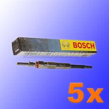 5 x 0 250 402 002 BOSCH GLUEHKERZE BMW 3er E46 E91 320d 5er E60 520d 12237786869